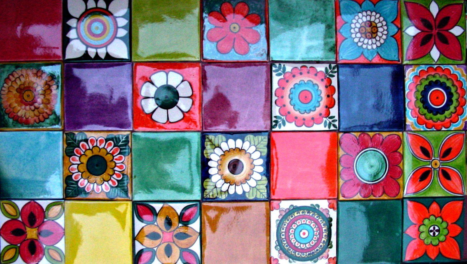 Mosaicos De Colores Cheap Combo Fotogrfico Elaborado Por
