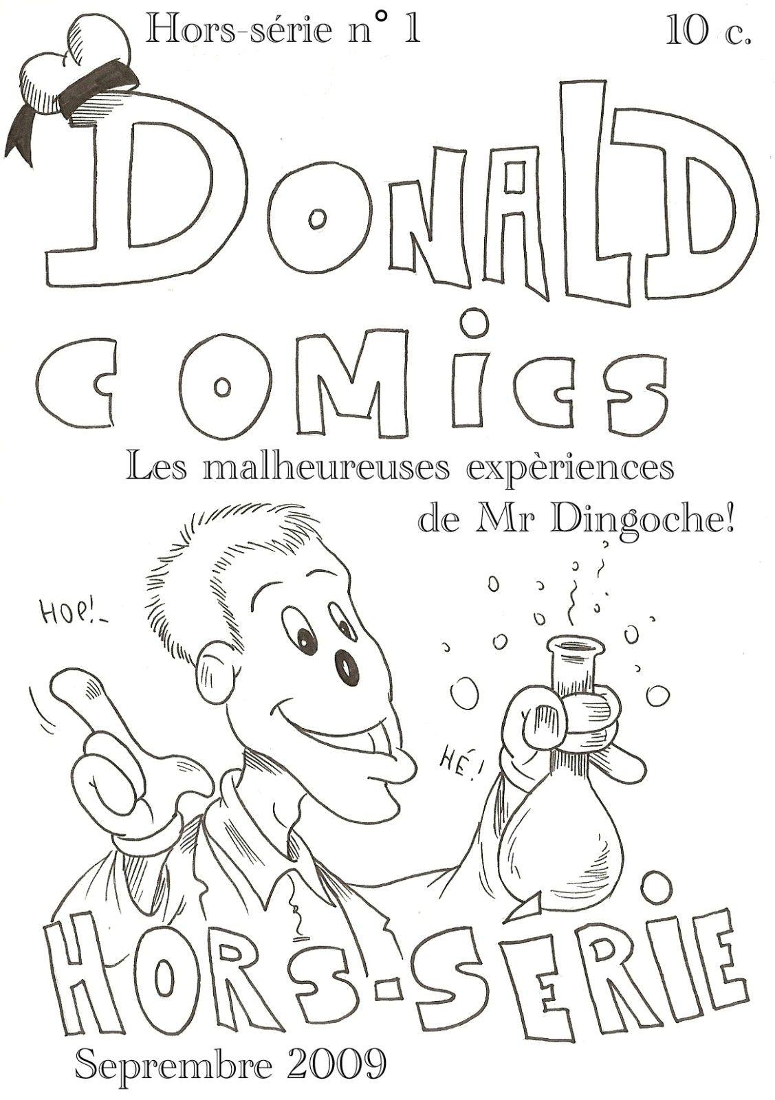 Donald Comics (Hors-série): Les expèriences de M. Caboche