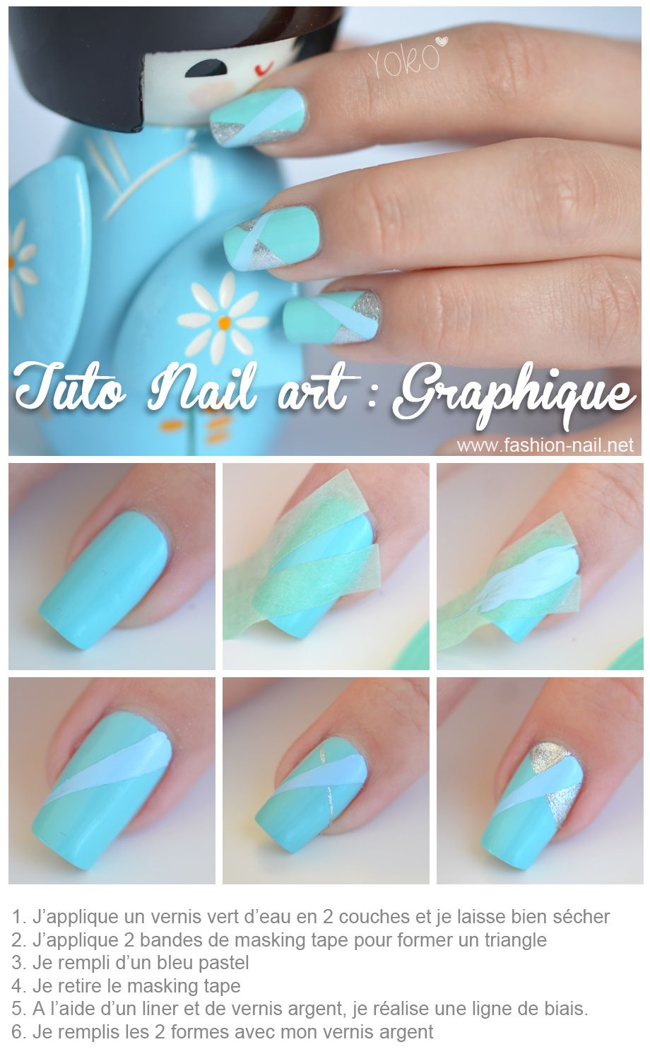 Tuto Nail Art Graphique Yoko