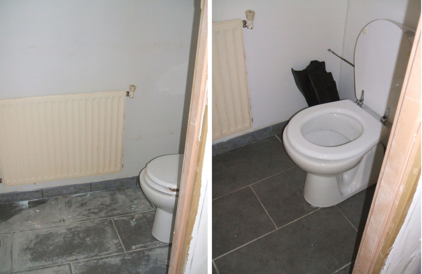 Best modele carrelage wc photos awesome interior home for Carrelage toilette