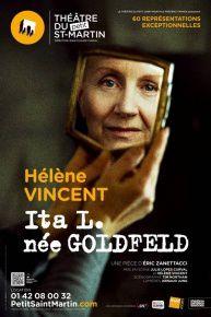 Ita L. nee Goldfeld - Helene Vincent - Theatre du Petit Sa