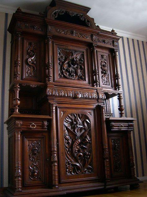 Buffet Henri II Monumental Brocante Antiquits