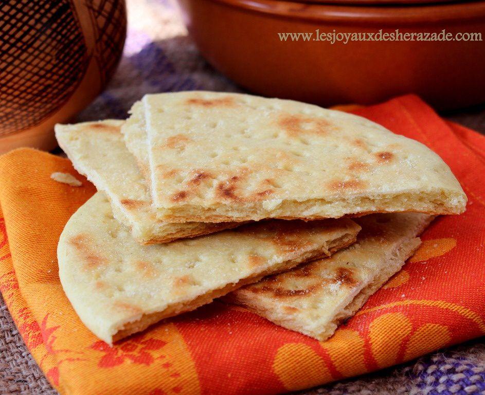 Khobz ftir  pain algrien  Les Joyaux de Sherazade