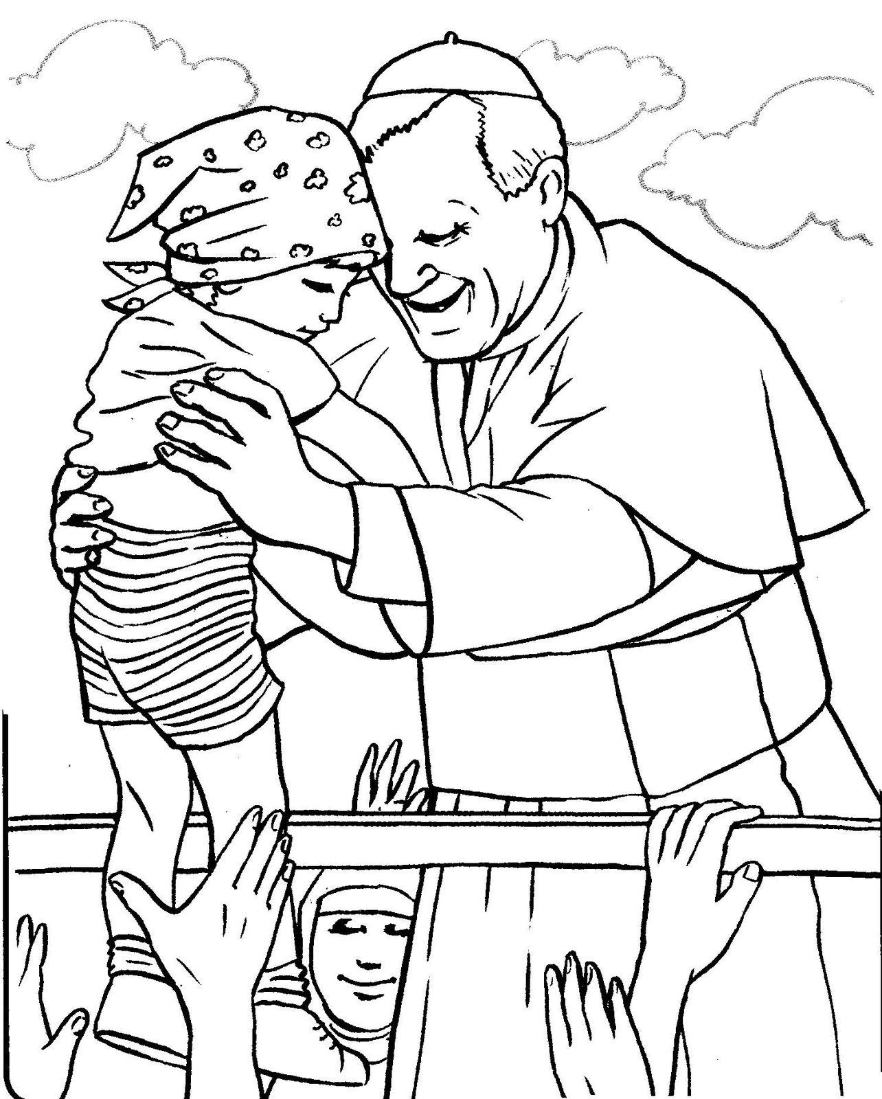 Free coloring pages of sainte thérèse