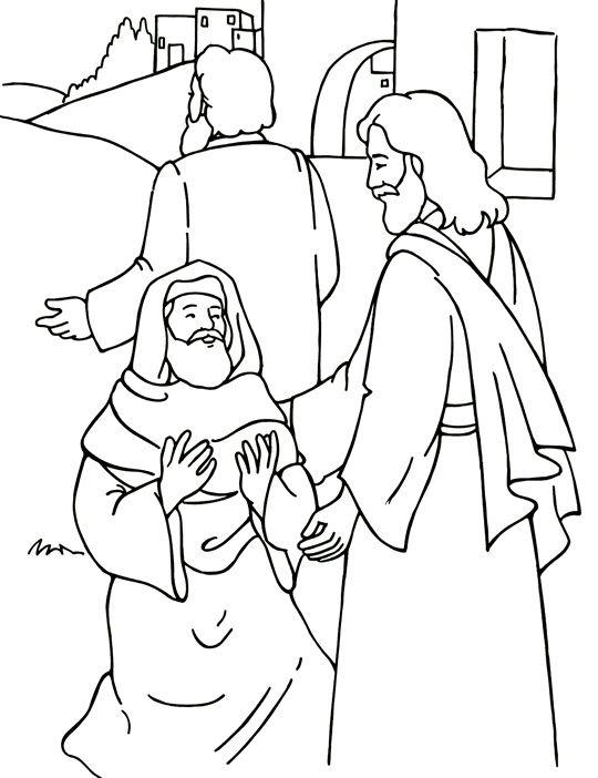 Jésus guérit 10 lépreux (Instruments catéchétiques