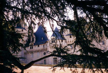 Le château d'Ussé, en 1995