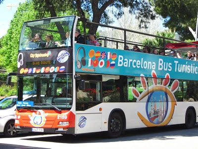 BARCELONA BUS TURISTIC ROUTE BLUE