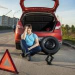 5 Steps to Changing a Tyre