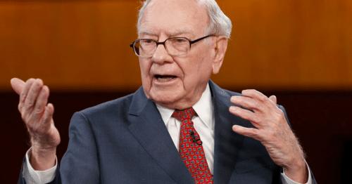 Huyền thoại đầu tư Warren Buffett trong một sự kiện. Ảnh- CNBC