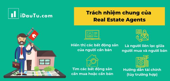 Ảnh minh họa về Real estate agents trong đầu tư bất động sản