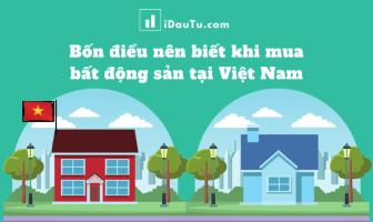 Lưu ý khi đầu tư bất động sản tại Việt Nam. Nguồn: IDauTu.com