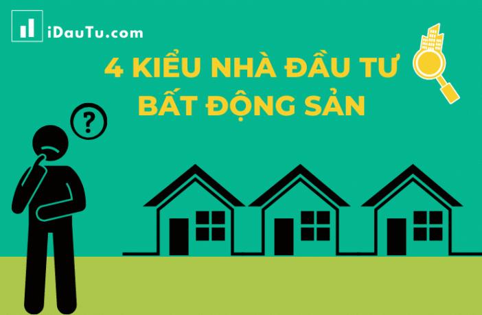 Ảnh minh họa tiêu đề 4 kiểu nhà đầu tư bất động sản