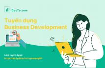 iDautu.com tuyển dụng Business Development