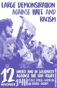 Demonstration against Hate and Racism