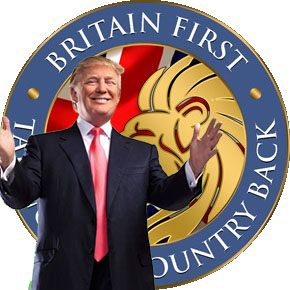 CANCELED Neo-Fascist Britain First Calls Rally for Trump at London's U.S. Embassy @ England | United Kingdom