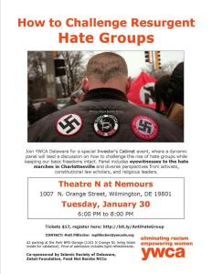 Daryle Lamont Jenkins to Participate in Panel Discussion on Hate Groups @ Theatre N at Nemours | Wilmington | Delaware | United States