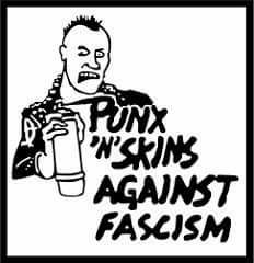 Rock Against Fascism II: The Punks And Skins Strike Back @ Cider Riot