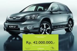 New Honda CRV untuk Diamond Director