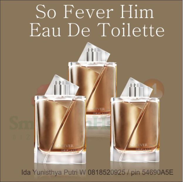so fever him eau de toilette oriflame