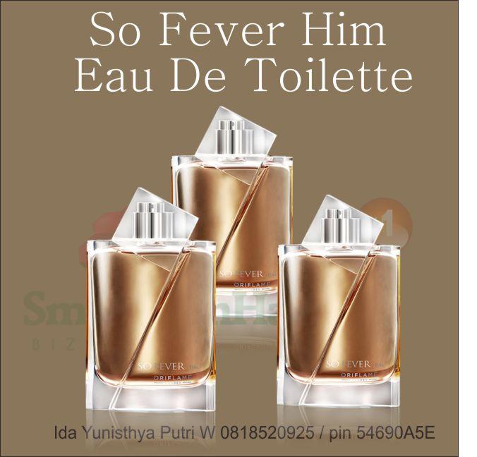 so fever him eau de toilette oriflame