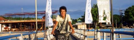 Gili Trawangan, Bikes Allowed! Motorcycle, No!