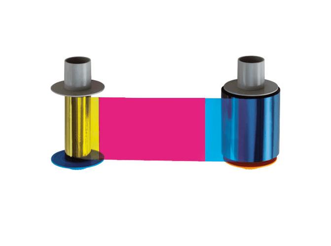 Fargo HDP5600 YMCKK Full Color w/ 2 Black Resin Ribbon
