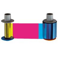 Fargo HDP8500 YMCKK Full Color Ribbon w/ Black Resin Panels