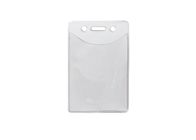 Vertical Badge Holder with Anti-Print Transfer