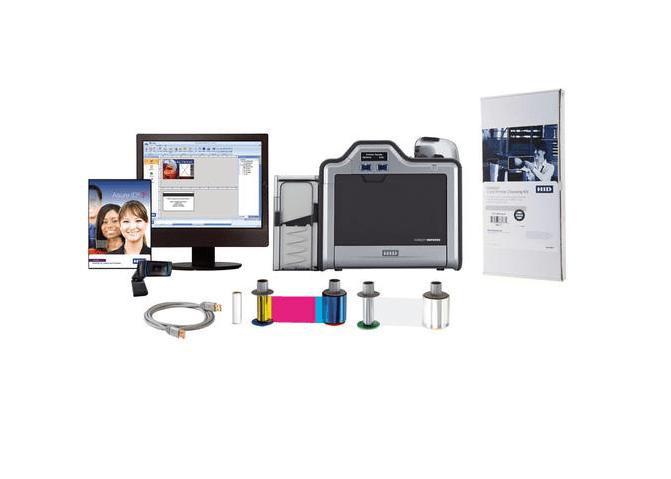 Bundle - Fargo HDP5000 SS Printer w Asure ID Express