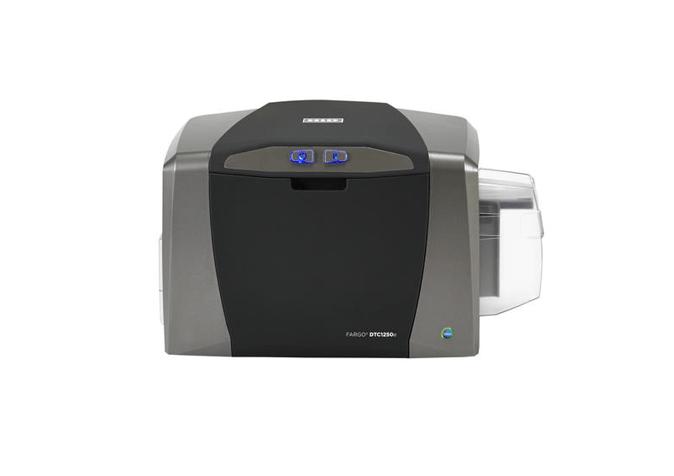Fargo DTC1250e SS Printer w ISO Mag Stripe Encoder and USB