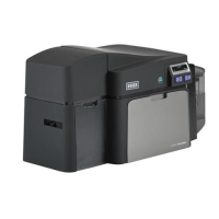 Fargo DTC4250e DS Printer w 100 Card Input Hopper