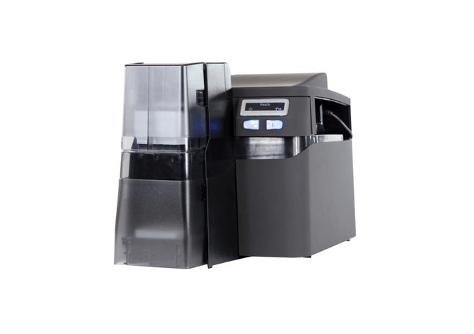 Fargo DTC4500e SS Printer Same Side In/Out w ISO Mag Encoder