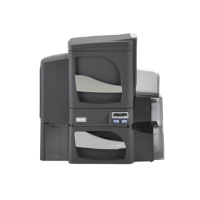 Printer, Fargo, DTC4500e, DS, SS Lam, Base Model w/ USB & Ethernet, WITH Locking Hopper