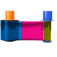 Fargo Connect Enabled YMCKO Full Color Printer Ribbon