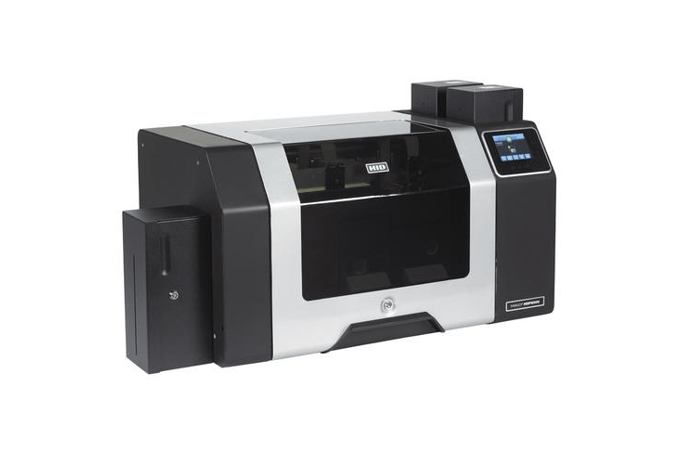 Fargo HDP8500 DS Printer w Flattener and HID Prox Encoder