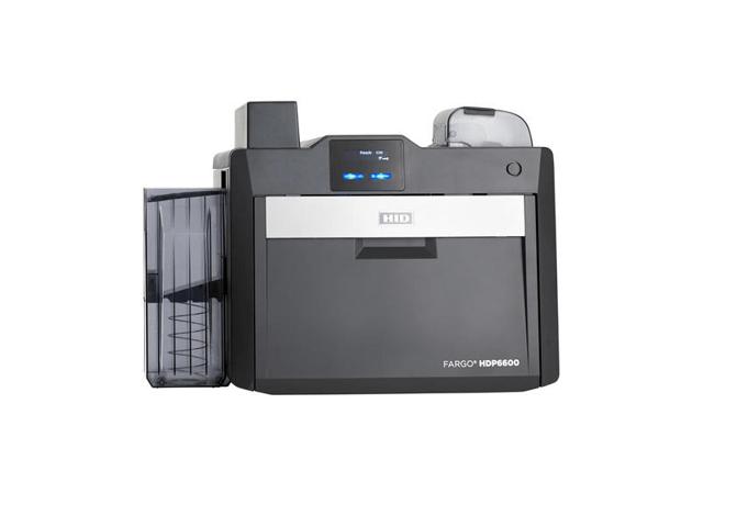 Fargo HDP6600 SS Printer w/ Card Flattener and Programmer Module