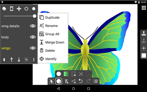 aplikasi corel draw android ivy draw