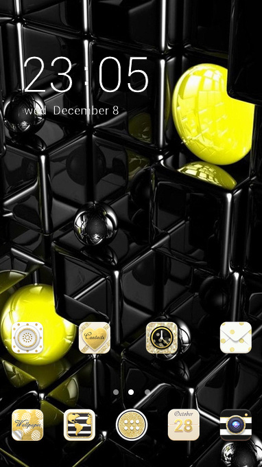 Download Themes Android C Launcher Space Interstellar 14