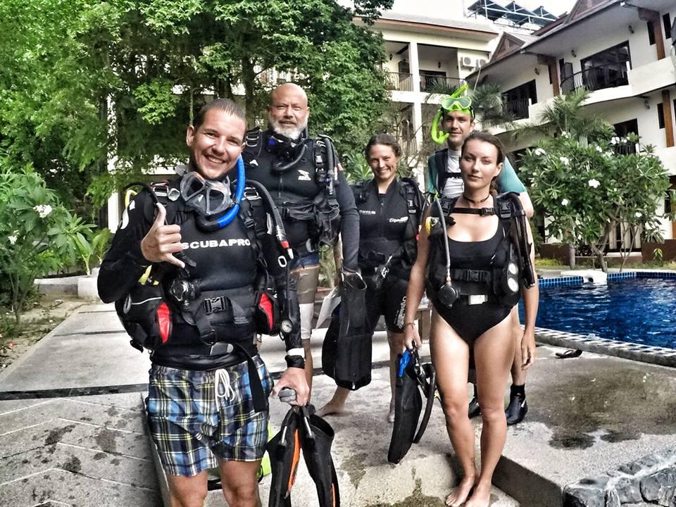 Dive Equipment During The Padi Idc Or Divemaster Course Padi Idc Koh