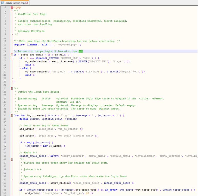 Cara Mengubah URL Halaman Log in Admin WordPress Tanpa Plugin