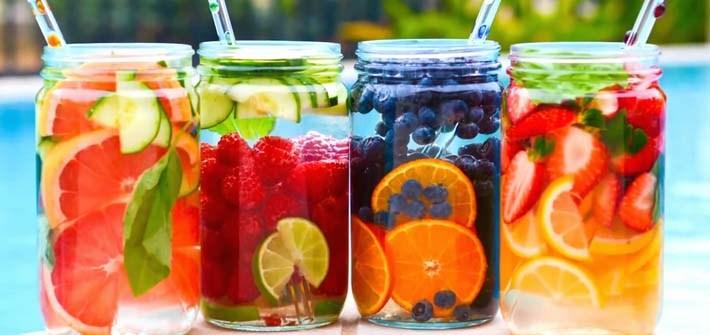 manfaat infused water