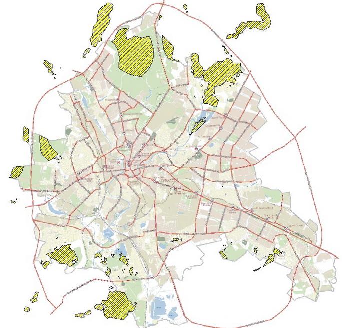 Районы развития малоэтажного жилья