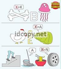 Cara Menjawab Tebak Gambar Level 11