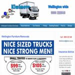 Web design for wellington removals