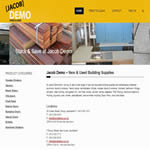 Building Materials Web Design2