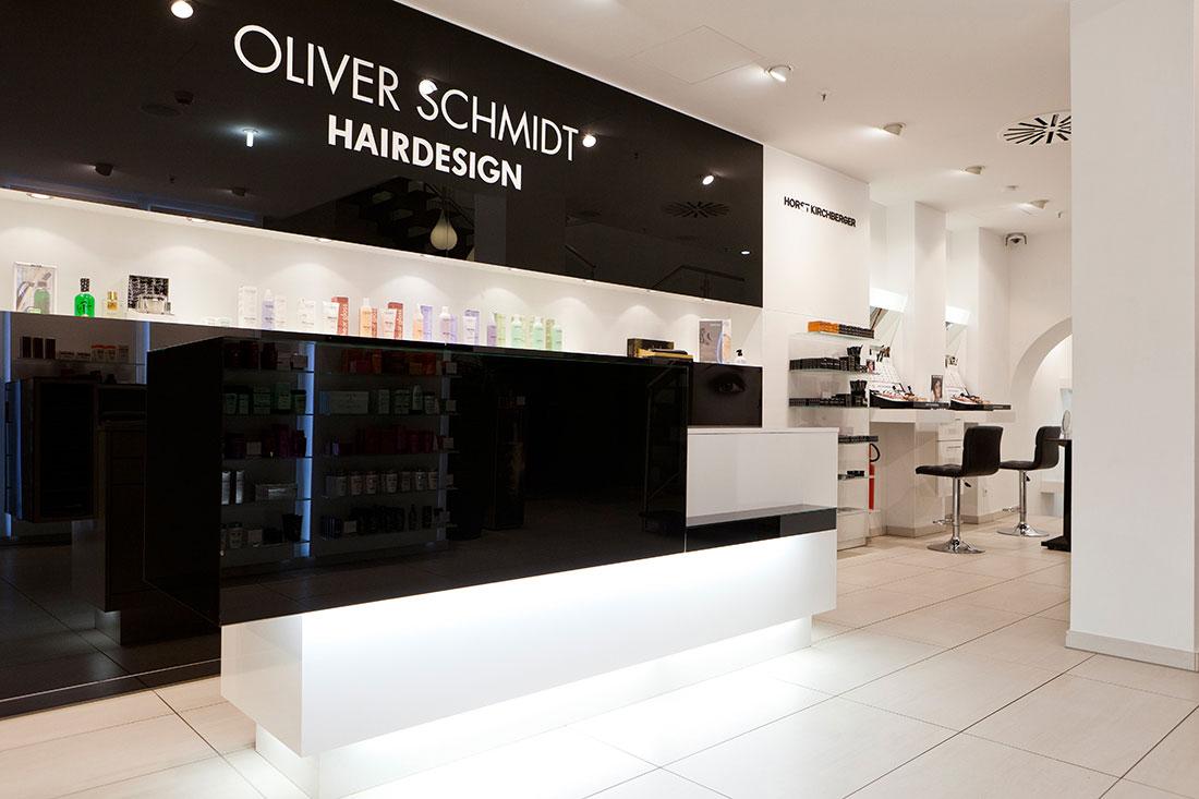 Friseureinrichtung, Friseurbedarf, Friseur Rezeption, Oliver Schmidt