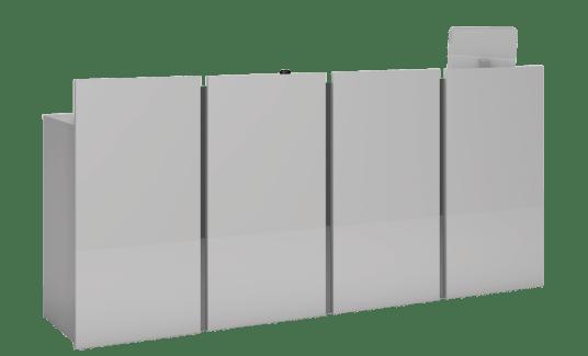 Friseur Rezeption Pure, vier Module
