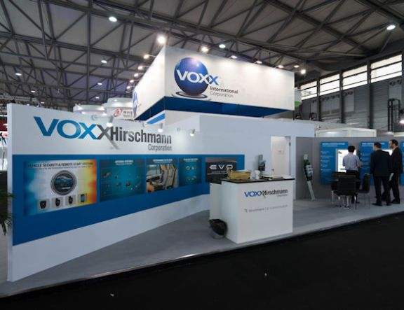 Voxx International Exhibit by Idea International, Inc.