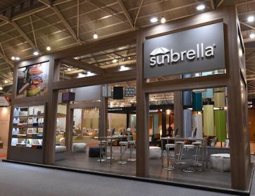 Idea International produced this exhibit for Sunbrella -4