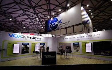 Voxx International exhibit at CES Asia 2017 by Idea International